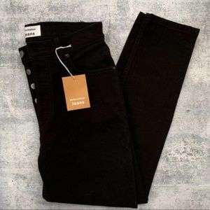 Reformation New Serena High Rise Skinny Crop Jeans